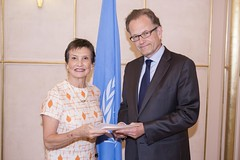 NEW PERMANENT REPRESENTATIVE OF CHILE PRESENTS CREDENTIALS