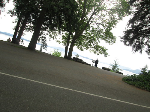 Samish Bay (ride by shooting on Chuckanut Drive)