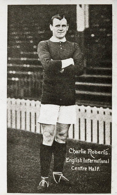 Charles Roberts in football kit