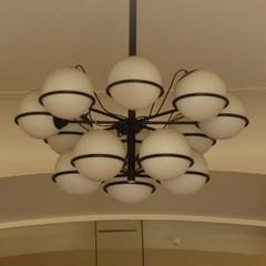light fixture, white, light, ceiling, chandelier, circle, lighting,