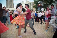 Midsummer Night Swing at Damrosch Park in Lincoln Center