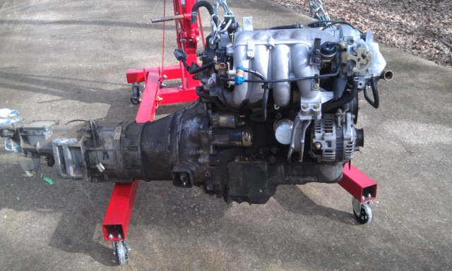 MM 00 EVO Engine Removal1