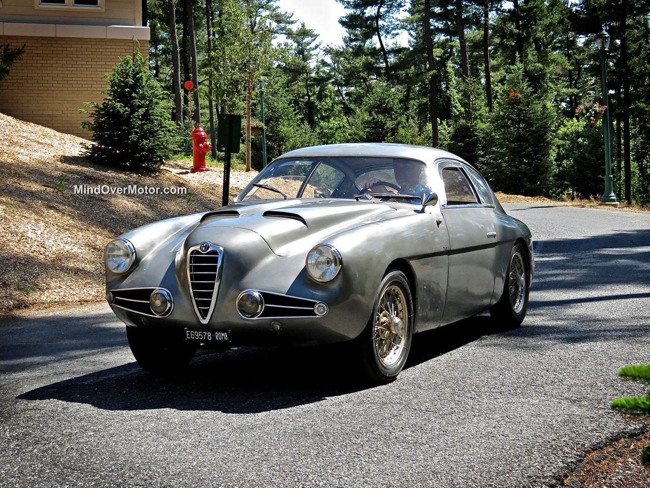 Alfa Romeo Zagato at Hershey