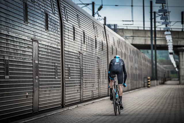 Chris Froome | The First Man to Cycle through the Eurotunnel