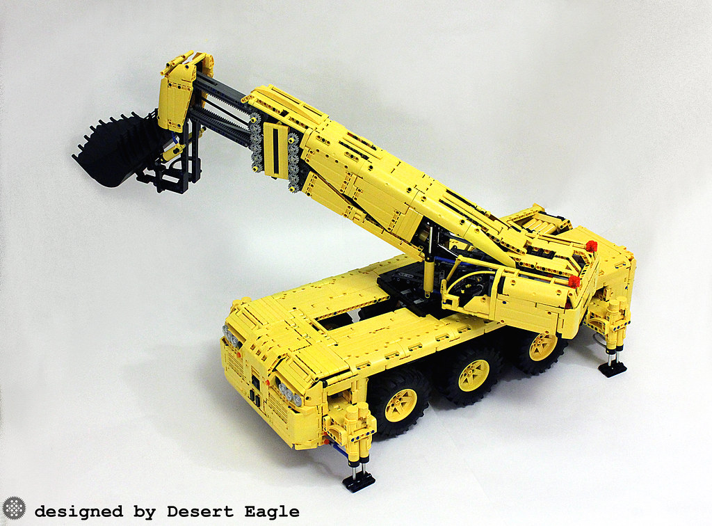 Lego Technic Pneumatic Rock Loader