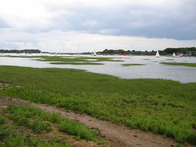 Chichester harbour south of Bosham