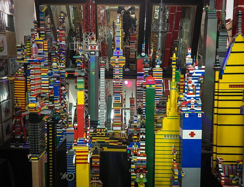 Lego en Museo del Juguete Antiguo México