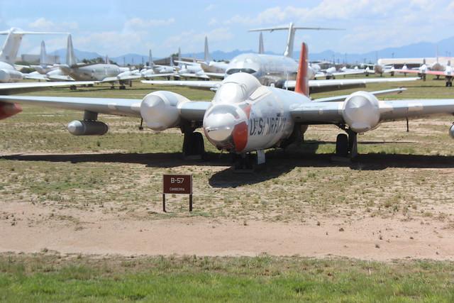 Martin B-57 Canberra Bomber
