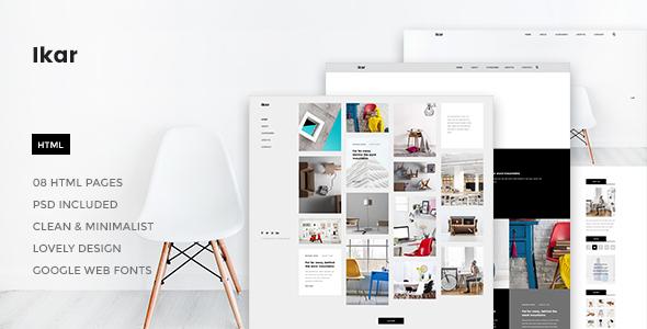 Ikar - Blog/Magazine HTML Template