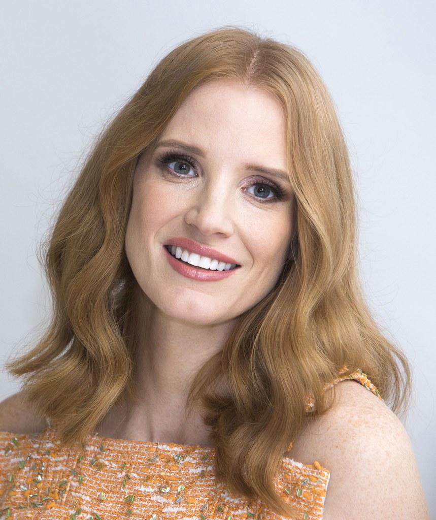 Джессика Честейн — Пресс-конференция «Мисс Слоун» 2016 – 43