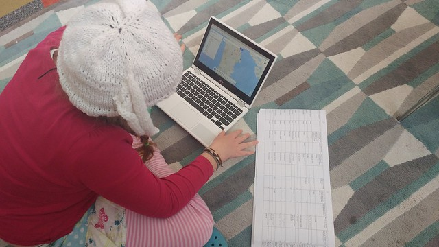 Piper maps out the locations that students come from everyday.
