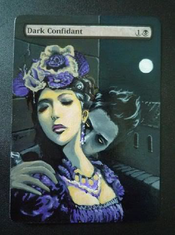 Dark Confidant Altered Art magic the gathering art mtg card artwork altered art magic cards