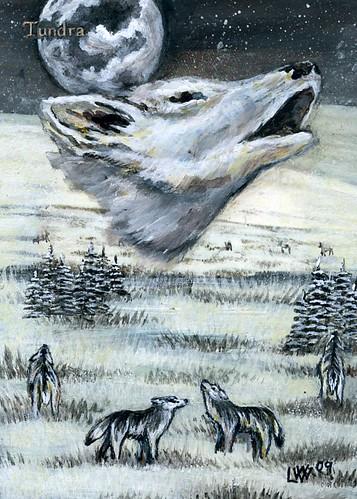 Tundra Altered Art MTG Card art Magic the Gathering Card