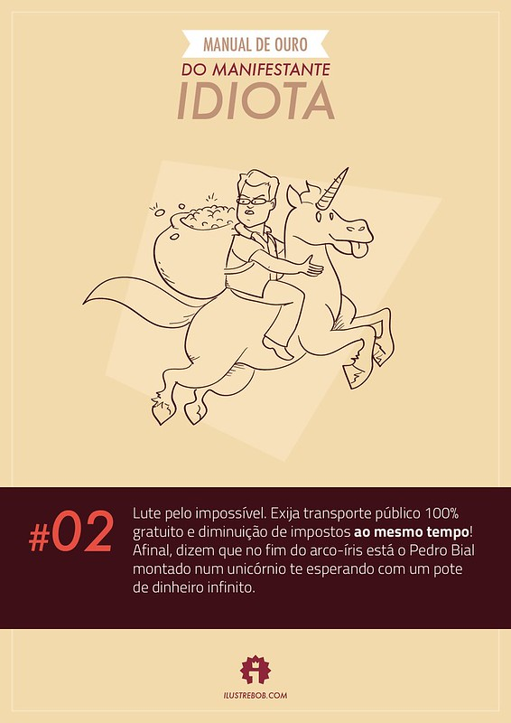 Manual de Ouro do Manifestante Idiota #02