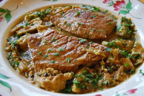 kalfsvlees met artisjokken