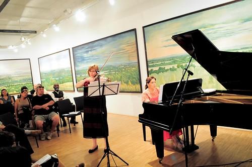 Las concertistas María Teresa Frenk y Victoria Horti Pásztor ofrecen exitosamente su último recital en Budapest