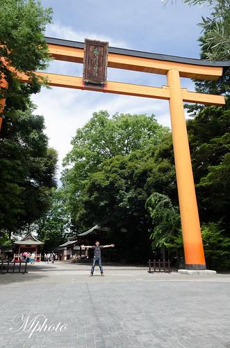 東京自由行 川越 冰川神社