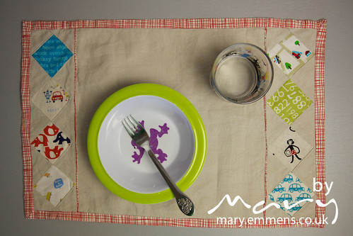 Diamond Patchwork Placemat M