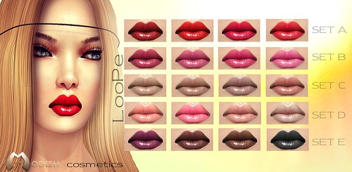 LooPe lipsticks @ Stuff in Stock by ::Modish::