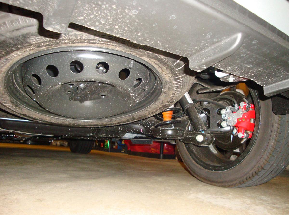Fiat 500 Spare Tire Kit