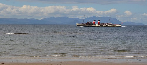 Waverley at Port Carrick beach by PhylB