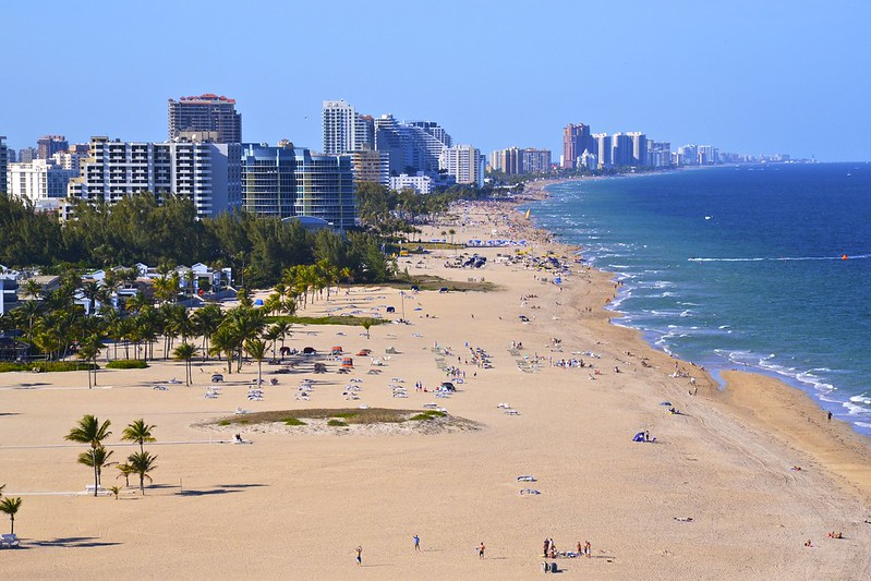 Beach at Fort Lauderdale