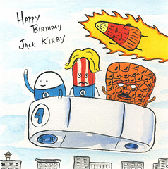 Happy Birthday Jack Kirby
