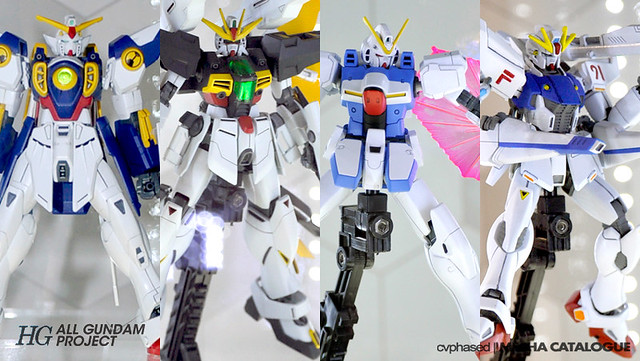 HG All Gundam Project - Starts Now!