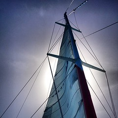 VENTO  #sea #sky #sun #catamarã #punta