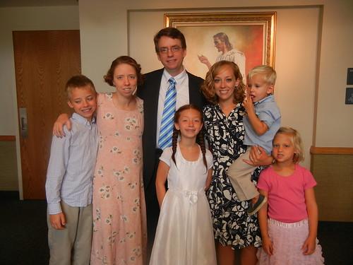Aug 31 2013 Rachel's baptism