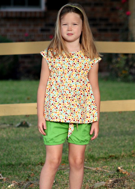 Roller Skate Tunic and Hula Hoop Shorts
