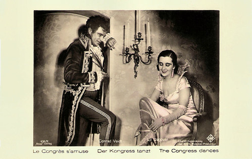 Conrad Veidt and Lil Dagover in Der Kongress tanzt (1931)
