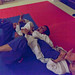 <p>While Oliver was visiting a friend recently, as a treat for his kids who began their BJJ journey this year, he had promised to train and grapple them. After a few grapples each they wanted to team up and grapple 2 onto 1.The photo shows the result - it was great fun!</p>