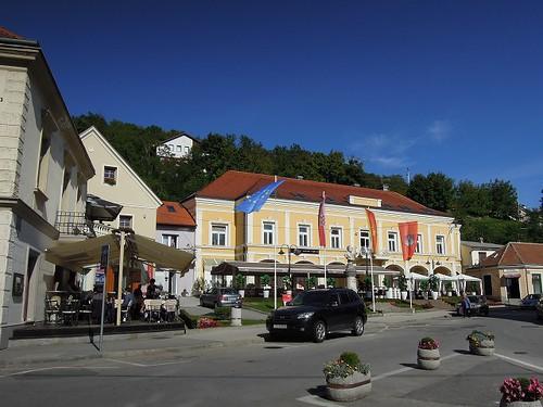 Krapinaの街