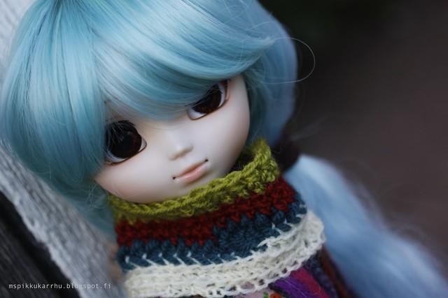 Biiig wool scarf :3