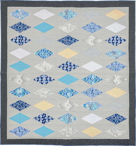 Diamonds Are a Girl's Best Friend - from Becoming a Confident Quilter