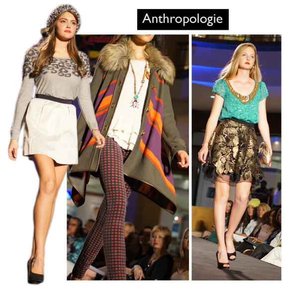 Saint Louis Fashion Week (Fall 2013), Fall into Fashion, Saint Louis Galleria, Anthropologie c