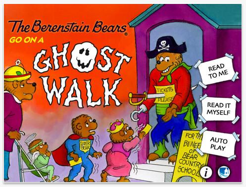 Apps Berenstain bears ghost walk