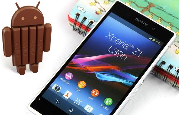 Android 4.4 для Xperia Z1