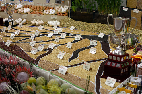 Perth Royal Show 2013 - Grain Art Is Now A Thing