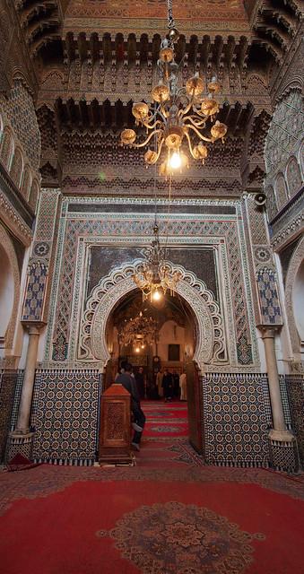 卡拉維因清真寺西面的伊德里斯二世國王的陵寢