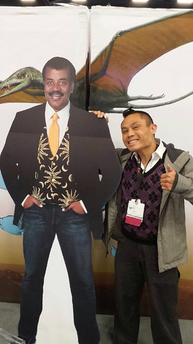Guess who I met at #astc2013? LOL.