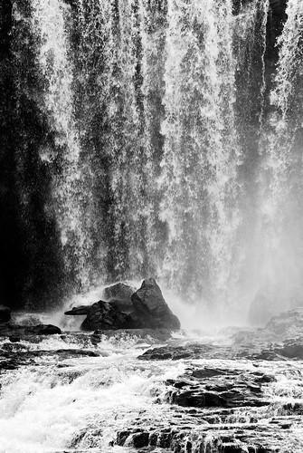 blackandwhite waterfall asia cambodia southeastasia jena m42 manualfocus sonnar carlzeissjena senmonorom dany365 czj135f4sonnar