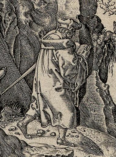 Extrait d'une gravure d'Aldegrever [2242]