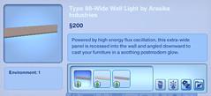 Type 88-Wide Wall Light by Arasika Industries