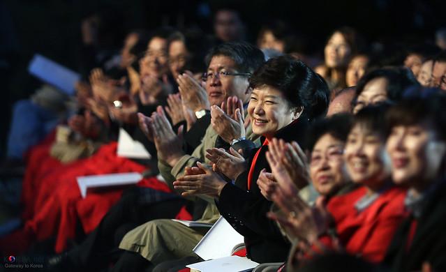 Photo:Korea_President_Park_Arirang_Concert_17 By KOREA.NET - Official page of the Republic of Korea
