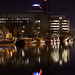 Small photo of City by night - Achmea toren