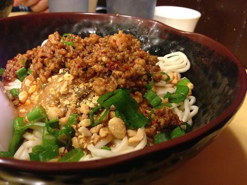 Sichuan Dan Dan Noodles at Lucky Noodle King