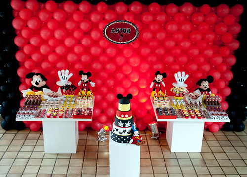 Decoracion Cumplea?os Mickey ~ Decoracion de Mickey Mouse para Cumplea?os