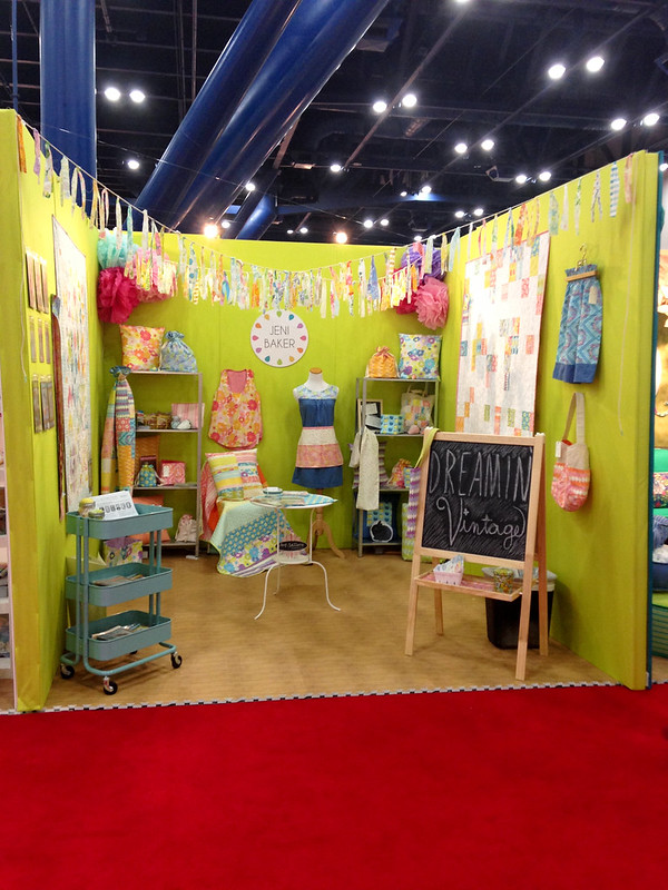 Dreamin' Vintage Quilt Market Booth